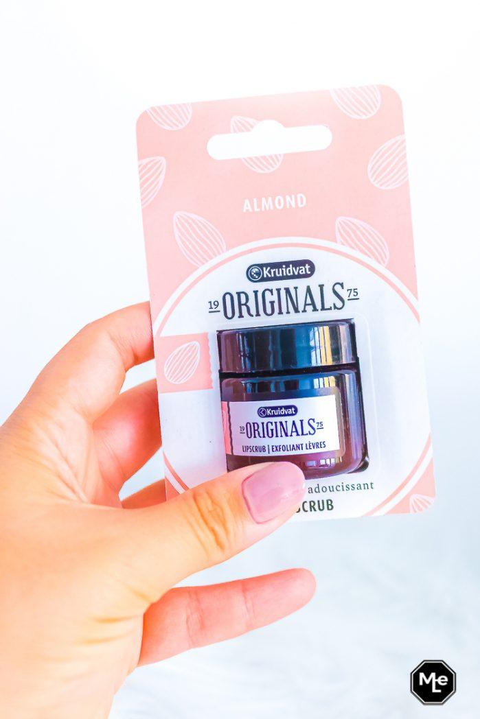 Kruidvat originals lip scrub verpakking