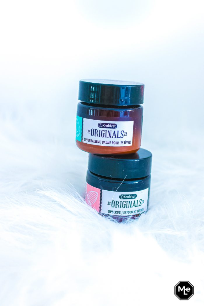 Kruidvat originals lip scrub amandelolie en Coconut Oil lip balm
