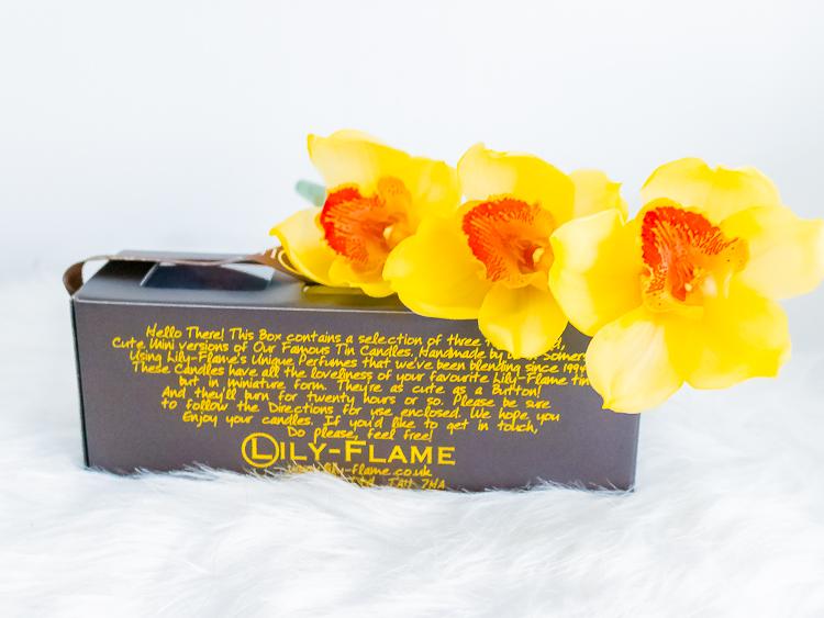 Lily Flame cadeau verpakking