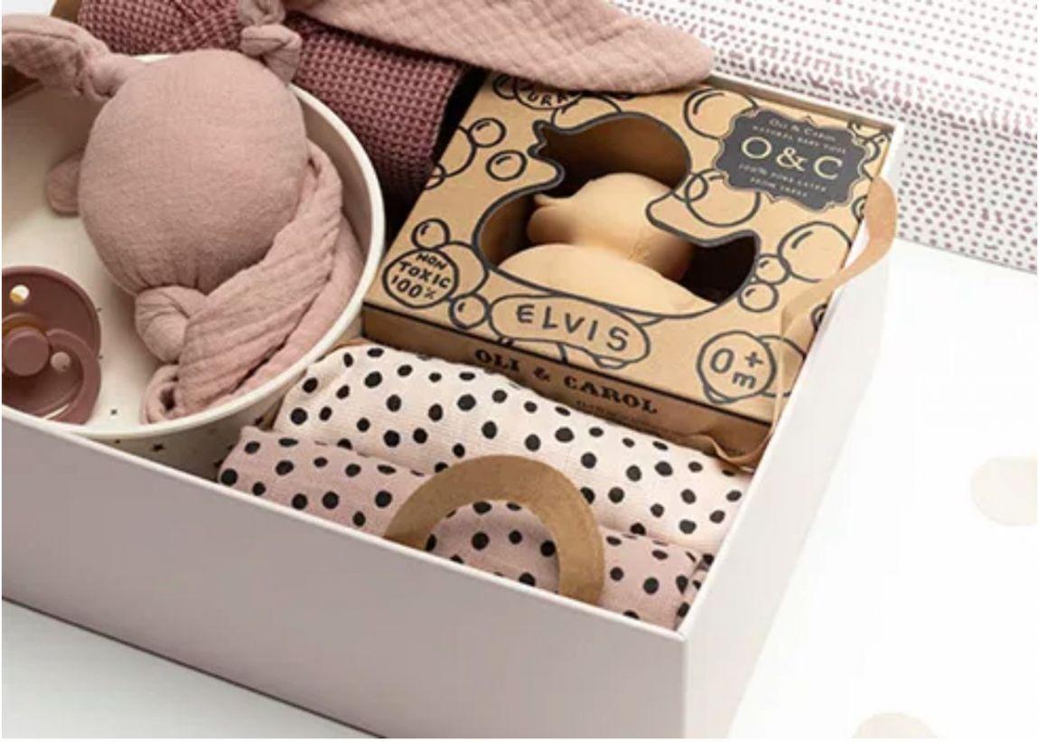 Babypark Giftbox Happy Dots / Nude