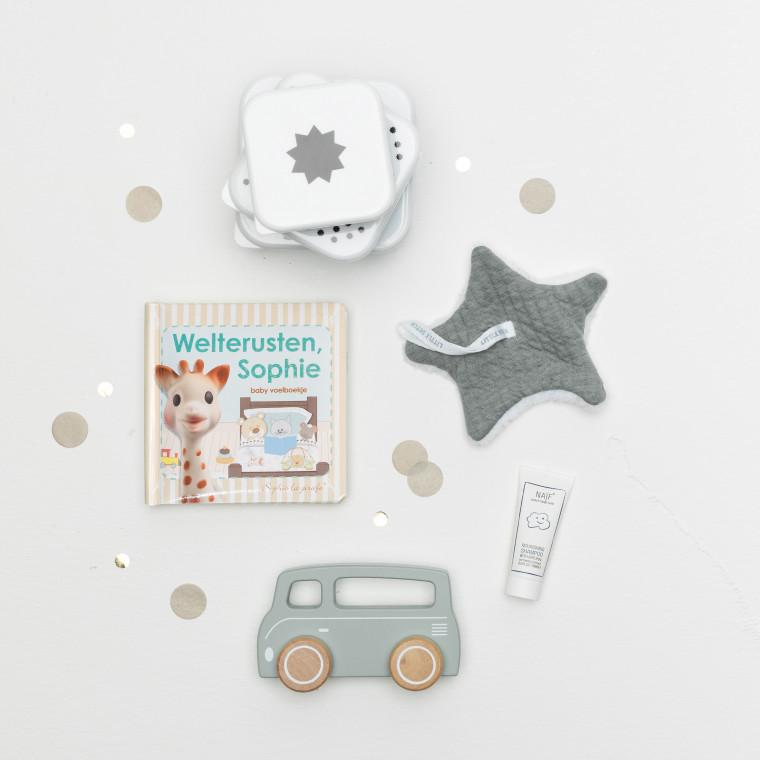inhoud Babypark Giftbox Deep Green / Pure