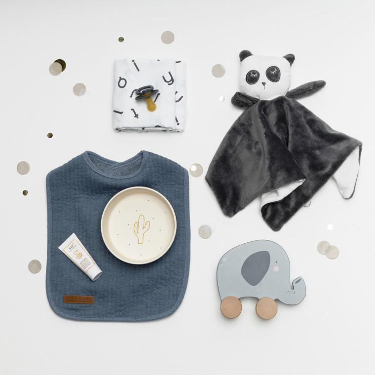 inhoud Babypark Giftbox Gold / Pure Blue