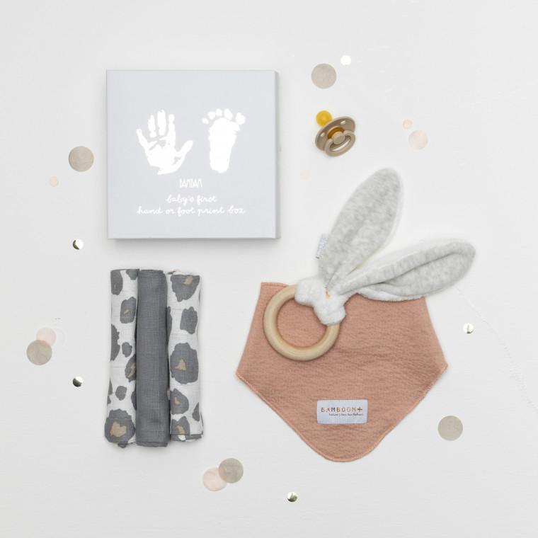 inhoud Babypark Giftbox Happy Dots / Panter