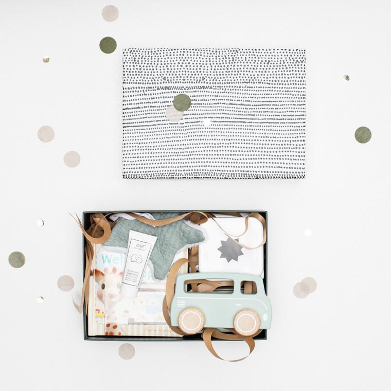 Babypark Giftbox Deep Green / Pure