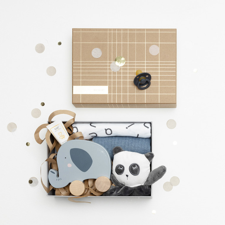 Babypark Giftbox Gold / Pure Blue