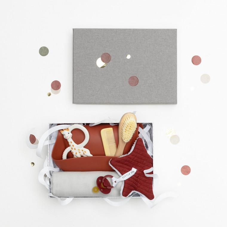Babypark Giftbox Little Dots / Wine