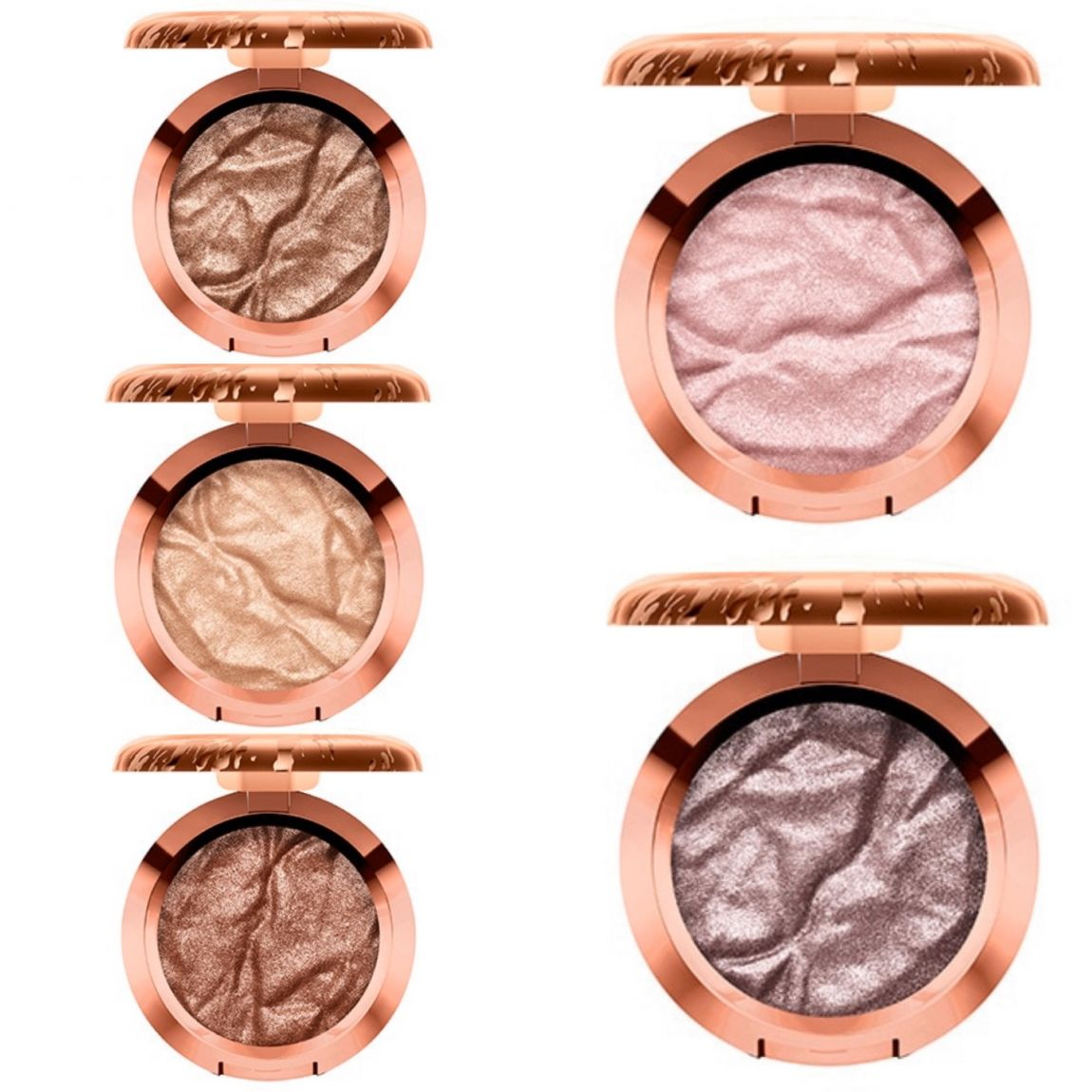 MAC Bronzer collection foiled eyeshadow