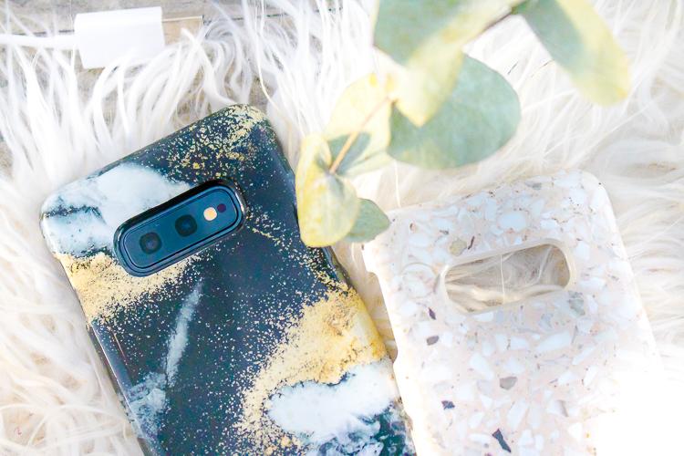 phone case close-up bovenkant