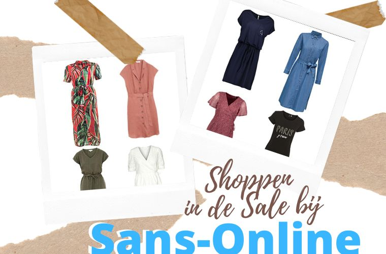 Shoppen in de Sale bij Sans-Online