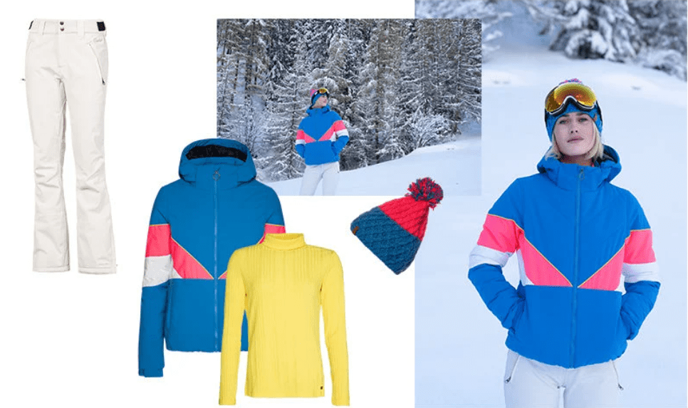 neon wintersportjassen protest