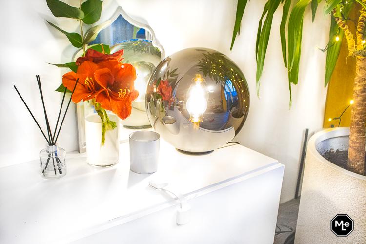 sfeerverlichting in de woonkamer