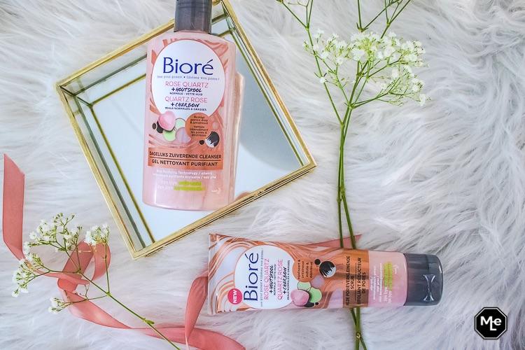 Bioré rose quartz + houtskool