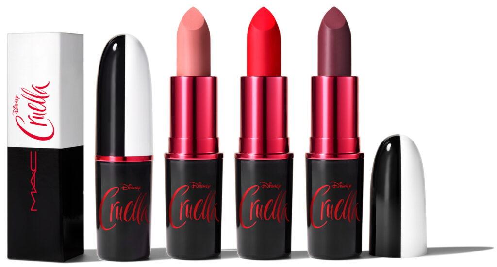 MAC Cruella matte Lipsticks