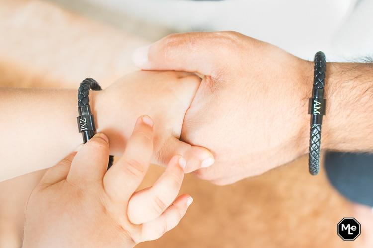 Vader en zoon armband