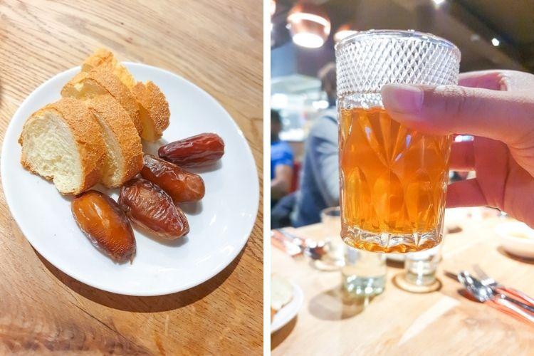 Madera House restaurant Rotterdam - dadels en Marrokaanse thee